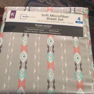 Soft Microfiber sheet set king
